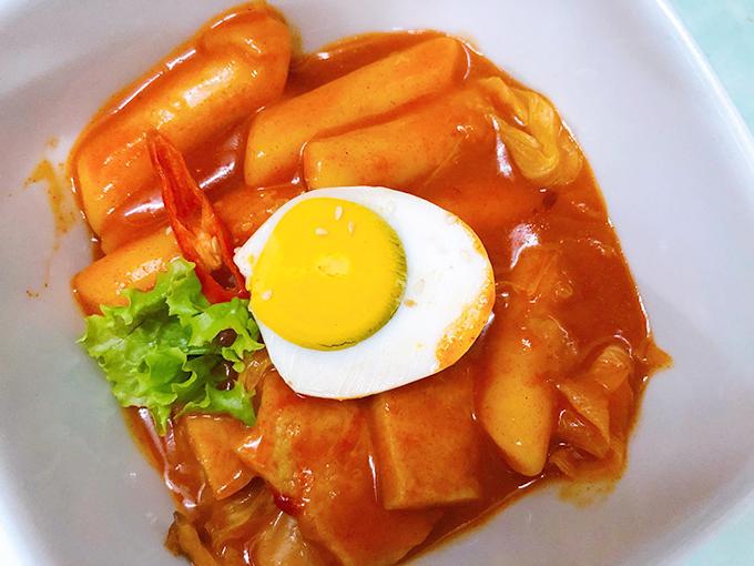 Bánh gạo tteokbokki xào cay kiểu Hàn - 2