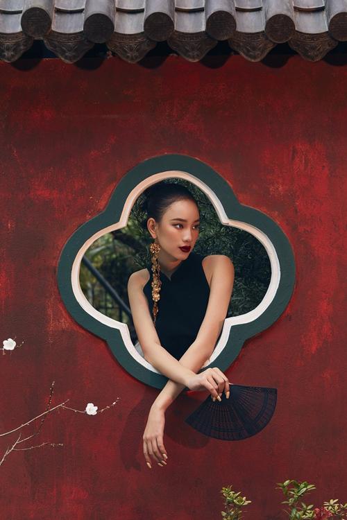 Phong cách Á Đông của sao Việt - 12