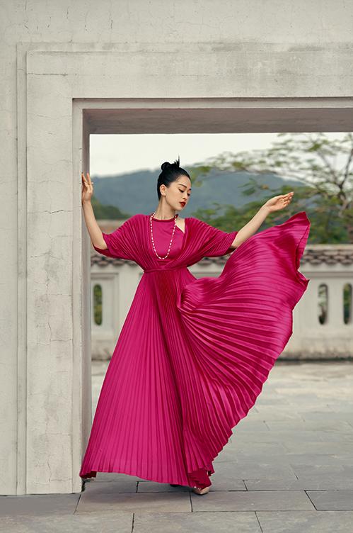 Phong cách Á Đông của sao Việt - 18