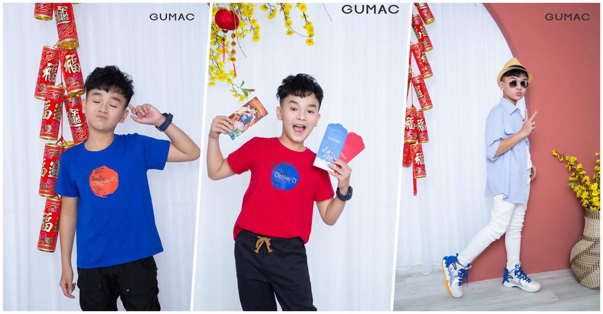 Ba gam chủ đạo được lựa chọn cho bộ sưu tâp lần này là trắng, xanh biển và đỏ, phù hợp với cả bé trai lẫn gái.