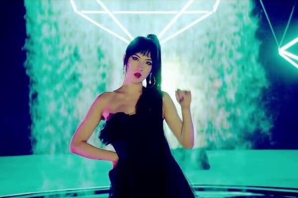 Annabel Yao trong MV đầu tay Backfire. Ảnh: Suho.