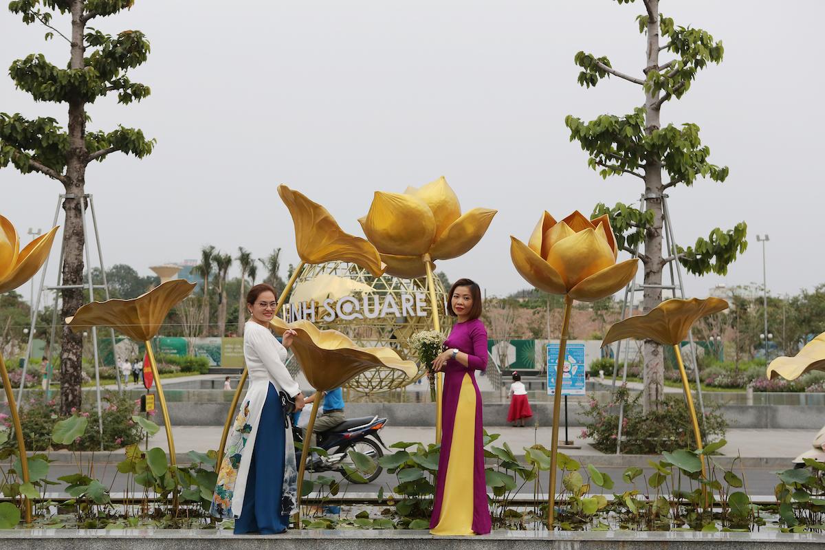 Sắc hoa 3 miền trong khu đô thị CityLand Park Hills - 2