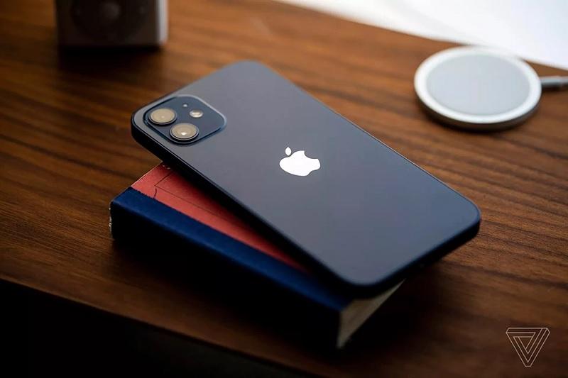 Mặt sau của iPhone 12. Ảnh: Theverge.