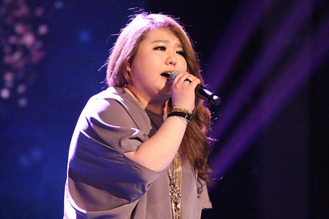 Thân hình ngoại cỡ khiến Ji Se Hee gặp khó khăn khi theo đuổi sự nghiệp ca hát.