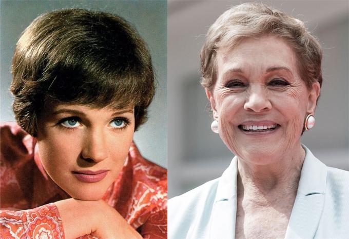 Minh tinh người Anh, Julie Andrews, năm nay đã 85 tuổi nhưng vẫn giữ được nét đẹp đài các từ thuở trẻ. Bà là ngôi sao gạo cội được khán giả truyền hình xứ sương mù kính trọng, yêu mến. Đặc biệt, giọng nói truyền cảm giúp Julie Andrews được mời lồng tiếng trong rất nhiều bộ phim hiện nay, trong đó có Despicable Me, Aquaman hay giọng quý bà bí ẩn Lady Whistledown trong phim Netflix Bridgerton.