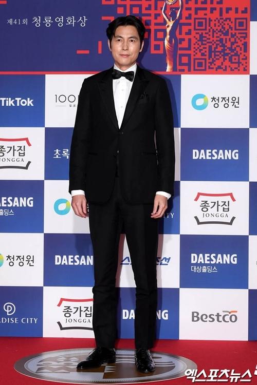 Diễn viên Jung Woo Sung.