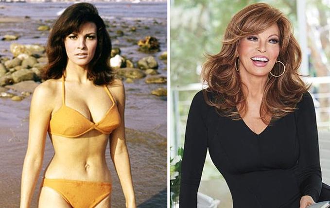 Raquel Welch từng là biểu tượng sex thập niên 1960 sau vai diễn trong phim truyền hình One Million Years B.C. Hình ảnh Raquel mặc bikini trong bộ phim trở thành một trong những poster bán chạy nhất mọi thời đại. Hiện nay, ở tuổi 80, minh tinh người Mỹ vẫn giữ nguyên vẻ đẹp duyên dáng và luôn xuất hiện tràn đầy năng lượng trên truyền hình.