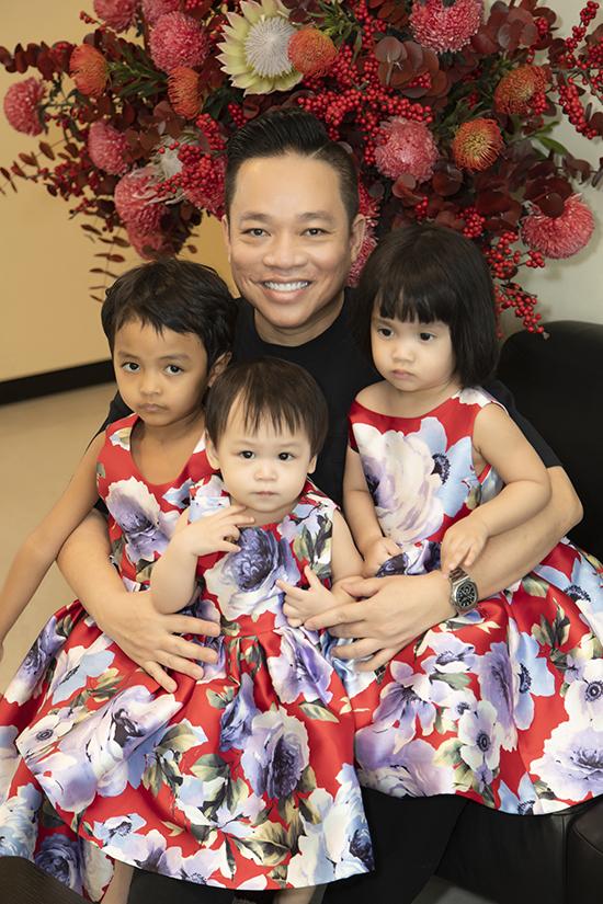 Các con khiến hai ông bố trở nên gắn kết hơn và cũng là lý do khiến Đỗ Mạnh Cường và Huy Cận lập nên thương hiệu thời trang SIXDO.