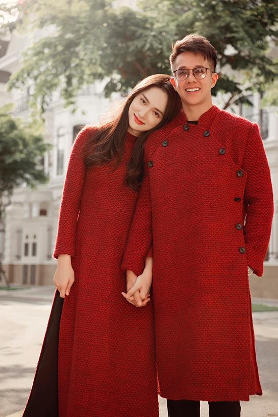 Matt Liu chia sẻ, đây là cái Tết đầu tiên của anh ở Việt Nam và cũng là cái Tết đầu tiên được ở bên bạn gái, hoa hậu Hương Giang.