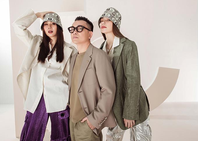 Tái hợp sau hơn nửa năm kể từ bộ ảnh Công Trí Thu Đông 2020 xuất hiện trên Vogue Pháp, Thanh Hằng - Hồ Ngọc Hà một lần nữa xuất hiện trong dự án mới nhất kết hợp cùng người anh cả làng mốt Việt.