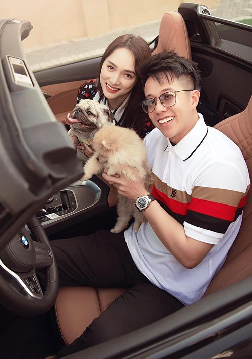Khoảnh khắc hạnh phúc giản đơn của hoa hậu chuyển giới Hương Giang và bạn trai Matt Liu.