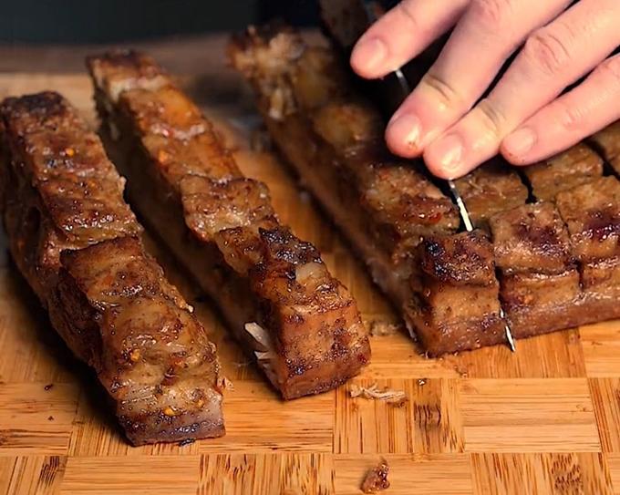 Mẹo làm thịt quay giòn bì ngon như ngoài hàng