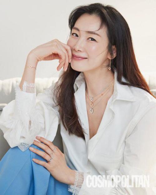 Ngôi sao Hàn trên Cosmopolitan số mới.