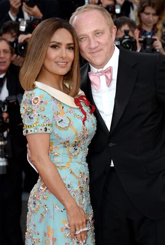 Salma Hayek và Francois-Henri Pinault đính hôn năm 2007, kết hôn năm 2009.