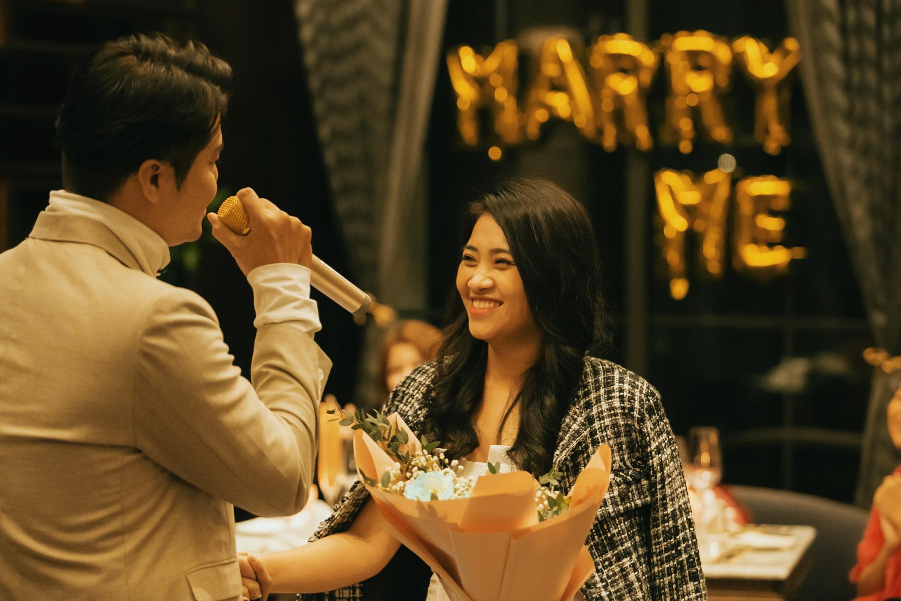 Tôi sẽ không bao giờ để Kim Hoàng cô đơn. Là người hiểu Hoàng nhất, tôi sẽ sống bên cạnh cô ấy đến cuối đời, anh nói thêm.