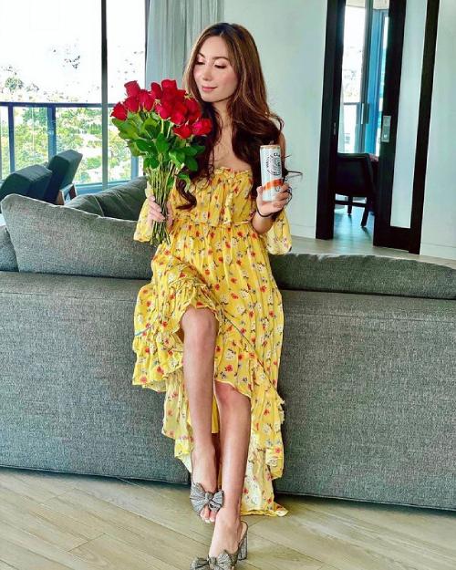 Hà Tư Hành tận hưởng Valentine ngọt ngào.
