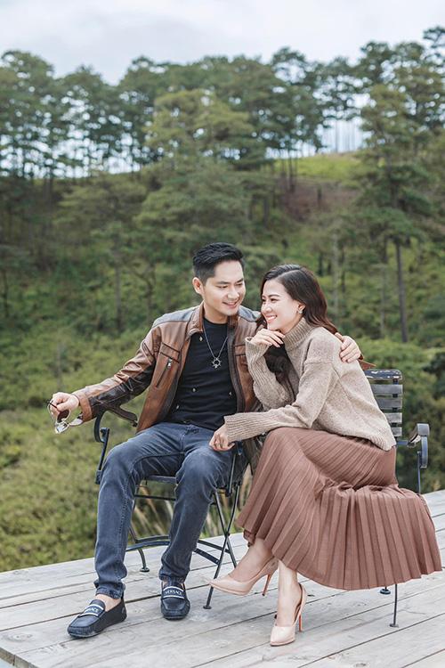 Minh Luân cùng bạn gái du lịch Đà Lạt.