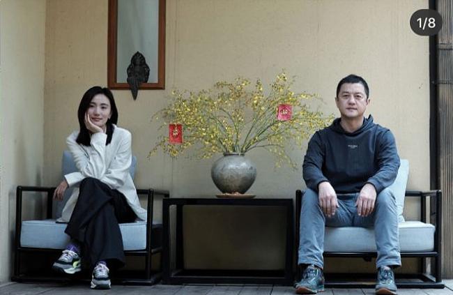 Cặp đôi tại khách sạn của Lý Á Bằng.