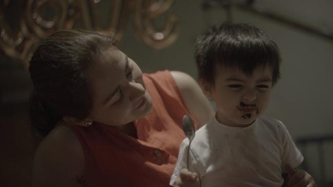 Con trai của Marian Rivera, Dingdong Dantes năm nay 22 tháng tuổi và rất kháu khỉnh.