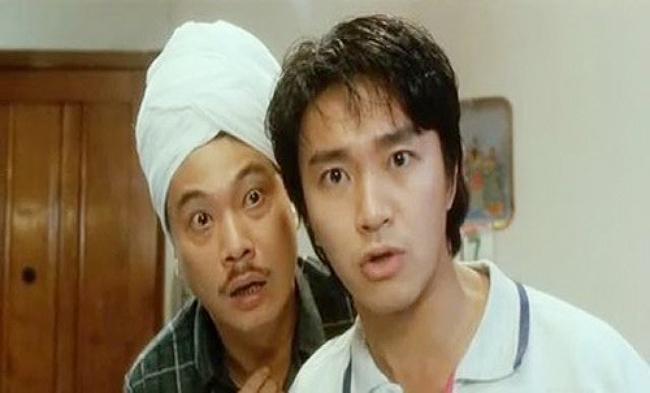Ngô Mạnh Đạt trong phim hài của Châu Tinh Trì.