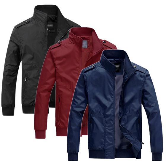 Áo khoác dù nam chống nắng chuẩn phong độ cổ đứng Pigofashion AKDN25 lựa màu - Đen - M 179.000đ(- 47 %)Thiết kế tinh tế với cổ bẻ, tay dài, đính nút bản to nổi bậtKiểu dáng thời trang, đường chỉ may tỉ mỉ, tinh tếMàu sắc : đen, xanh đen, đỏ đôKiểu dáng trang nhã dễ dàng mix cùng các trang phục khác như áo thun; áo sơ miChất liệu: dù cán 2 lớp dày vừa + lớp dù lót bên trongThiết kế tinh tế với cổ bẻ, tay dài sành điệu, cá tính, form dáng khỏe khoắn cho bạn phong cách trẻ trung, chỉnh chu và không kém phần lịch lãm.➤ Đảm bảo không ra màu, không phai màu suốt quá trình sử dụng➤ Chất liệu: vải dù cán 2 lớp dày dặn. bên trong có lớp lót vải mỏng giúp thoáng khí mát mẽ.➤ Công dụng: che gió, chống nắng, giữ ấm mùa thu đông➤ Áo phối chỉ viền tạo điểm nhấn và sành điệu đường chỉ may tỉ mỉ, tinh tế.➤ Màu sắc trang nhã dễ dàng mix cùng các trang phục khác như áo thun, áo sơ mi,➤ Người bạn đồng hành lý tưởng cho bạn phong cách hoàn hảo.➤ Chất liệu: Dù cán dày dặn + lớp lót vải dù thoáng mát bên trong, phối nón phong cách hàn quốc➤ Size: M: 50 - 55kg, L:56 - 65kg , XL: 66 - 75kg
