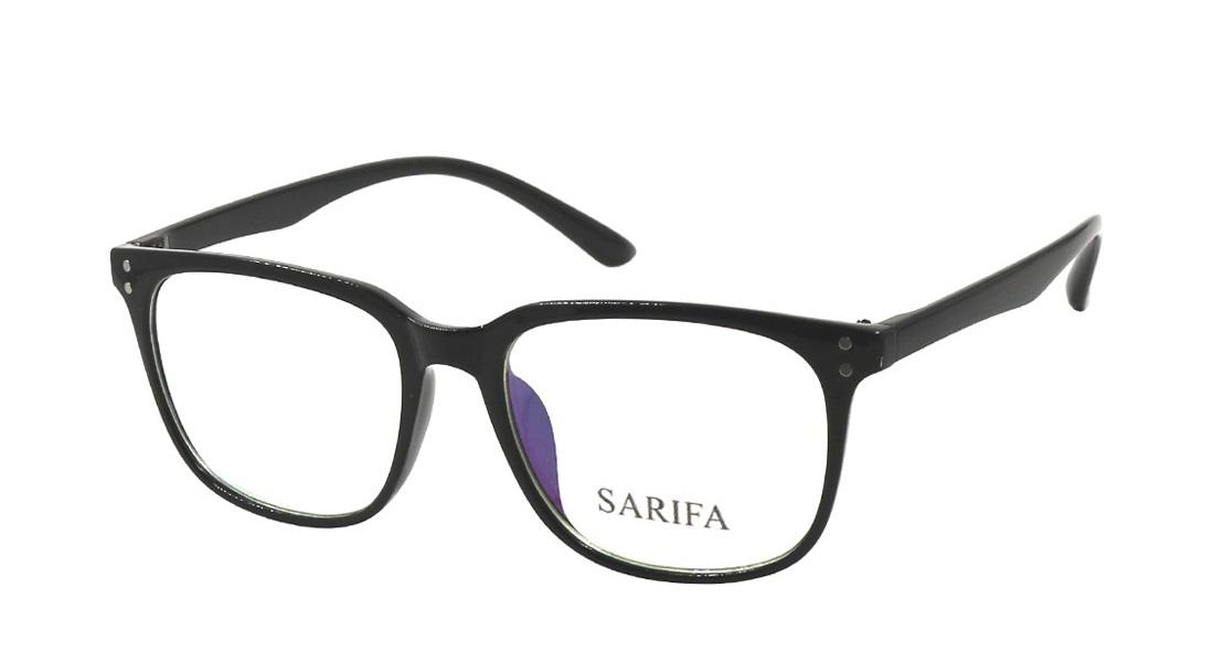 Gọng kính Sarifa 2373 làm từ chất liệu nhựa và hợp kim titanium, trọng lượng nhẹ, không để lại vết hằn trên da. Thiết kế dáng tròng bo cong thanh lịch và dễ mang. Đệm mũi êm ái, tạo cảm giác dễ chịu khi đeo. Sản phẩm có giá giảm sâu còn 88.000 đồng.