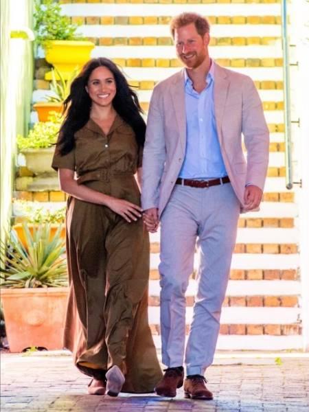Vợ chồng Harry hiện ổn định cuộc sống ở Mỹ sau khi rời hoàng gia hồi tháng 3 năm ngoái. Ảnh: Mega.