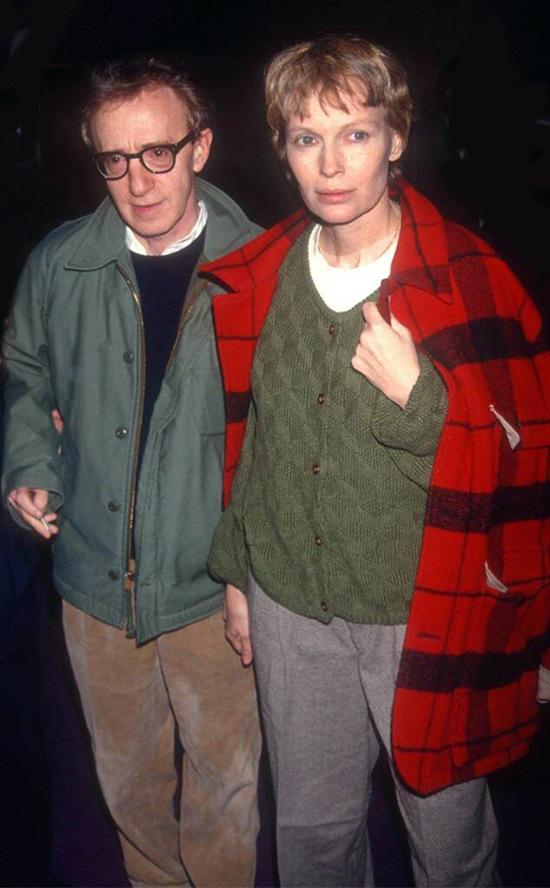 Mia và Woody gắn bó từ năm 1983 đến 1992.