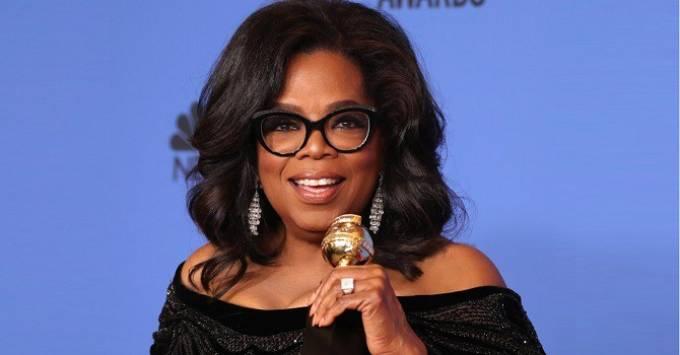 Nữ hoàng truyền thông Oprah Winfrey. Ảnh: Reuters.