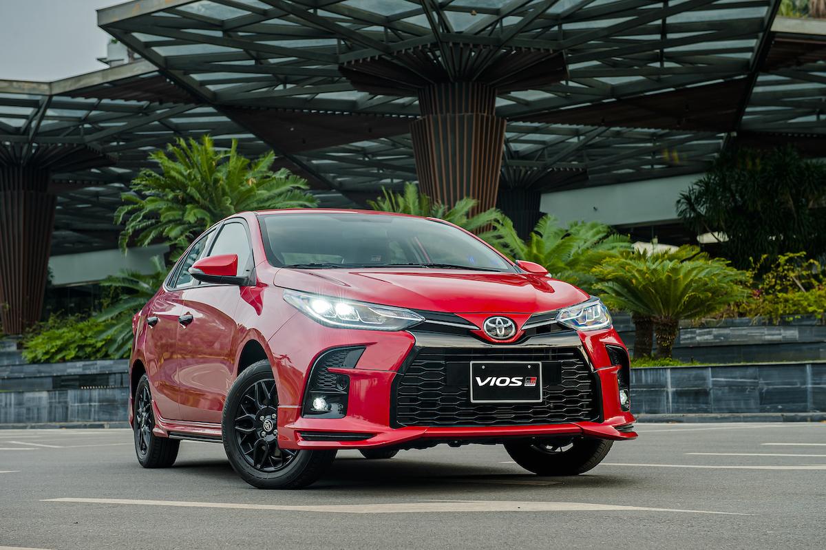 Toyota Vios G-RS mới ra mắt.