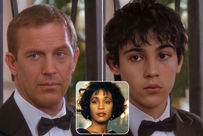 Con trai mang màu da ngăm là sự hòa trộn của Kevin Costner và Whitney Houston phim Bodyguard.
