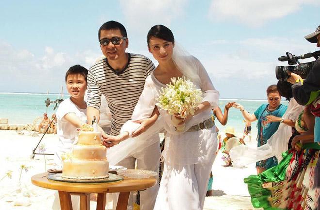 Cặp sao làm đám cưới năm 2014, 8 năm sau khi đăng ký kết hôn.