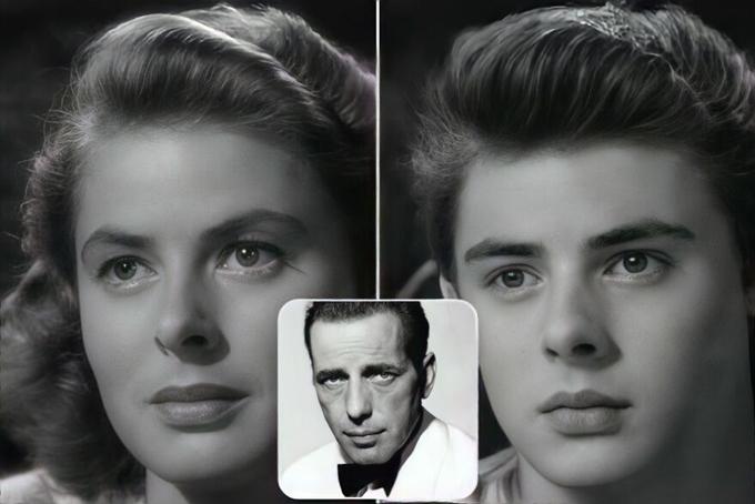 Con trai của Ingrid Bergman và Humphrey Bogart phim Casablanca mang gen trội của mẹ.