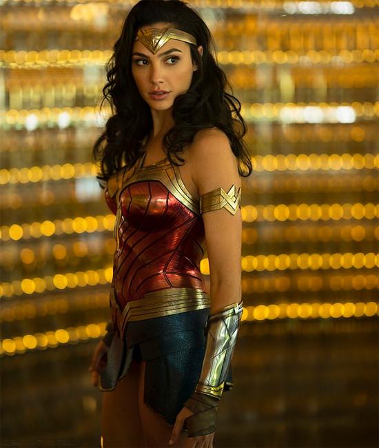 Gal Gadot trong vai  Wonder Woman.