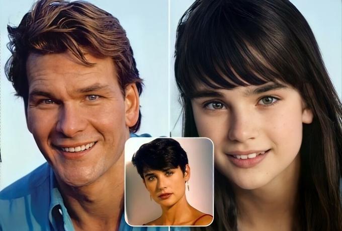 Con gái của bộ phim Ghost mang đôi mắt của minh tinh Demi Moore và nụ cười của tài tử Patrick Swayze.