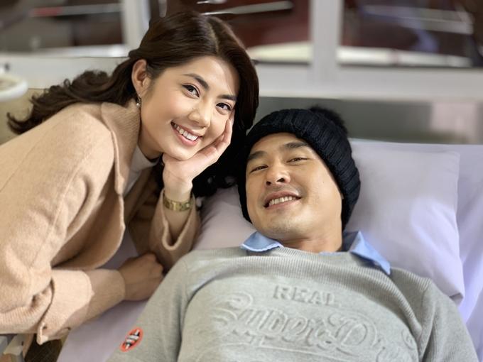 Lương Thế Thành đóng vợ chồng với Đàm Phương Linh.