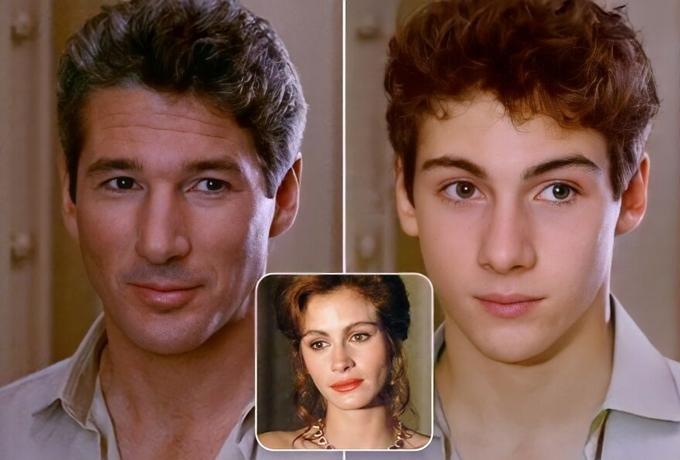 Con trai AI của Richard Gere và Julia Roberts trong Pretty Woman rất điển trai.
