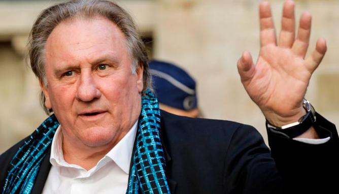 Diễn viên Gerard Depardieu.