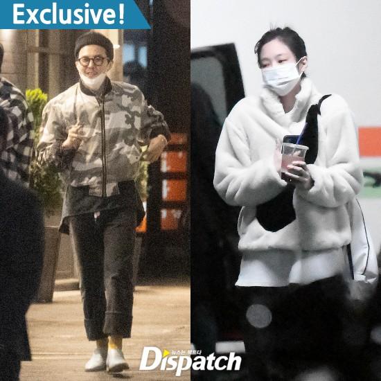 Dispatch khẳng định Jennie và G-Dragon đang hẹn hò.