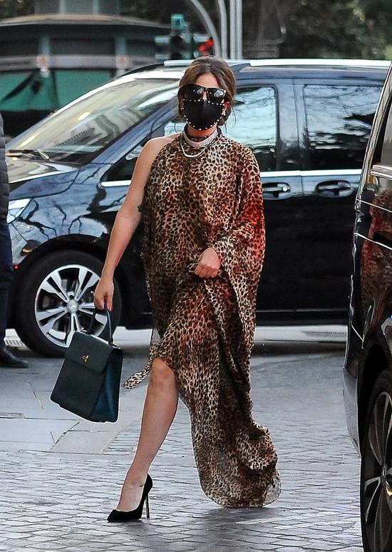 Lady Gaga tại Rome, Italy hôm thứ tư.