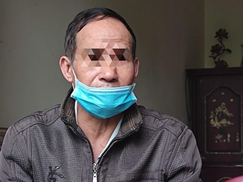 Ông Xông bố của nghi phạm Trần Mạnh Hùng. Ảnh: Phạm Chiểu