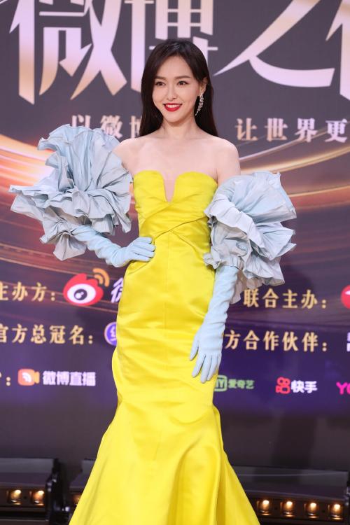Trăm hoa đua sắc trên thảm đỏ Weibo