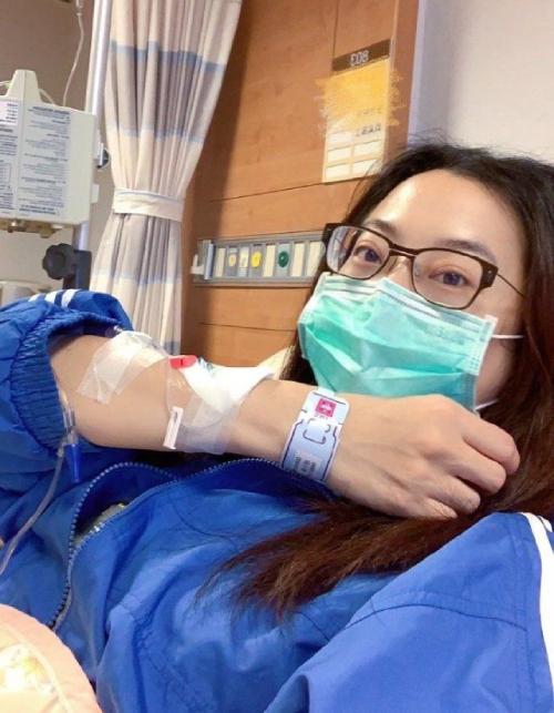 Tiểu Kiều trong phòng bệnh, sau khi sảy thai.