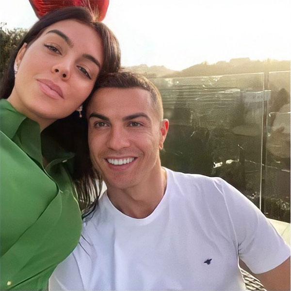 C. Ronaldo và bạn gái bên nhau gần 5 năm nay. Ảnh: Twitter.