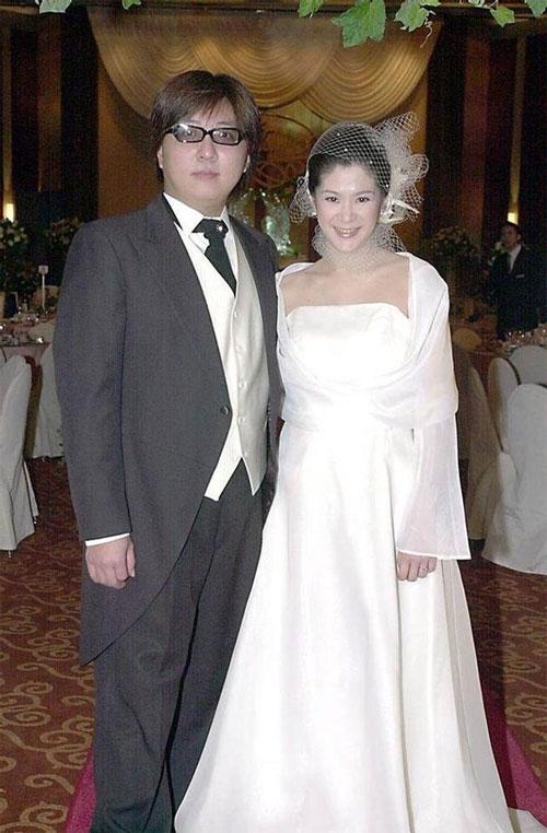 Lục Nguyên Kỳ và chồng cũ, Viên Duy Nhân.