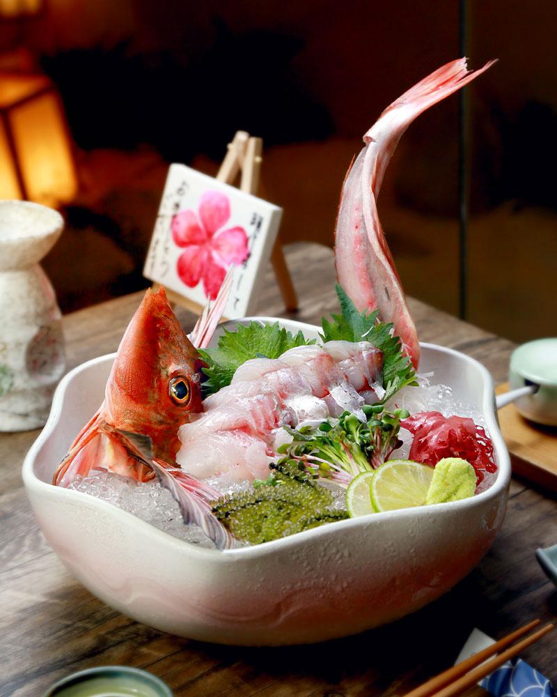Houbou: vẻ ngoài phảng phất màu hồng với chiếc vây xòe đẹp tựa đôi cánh. Màu hồng của cá được so sánh với sắc màu của loài hoa mùa xuân. Cá bước vào mùa sinh sản trùng với thời gian hoa anh đào nở.