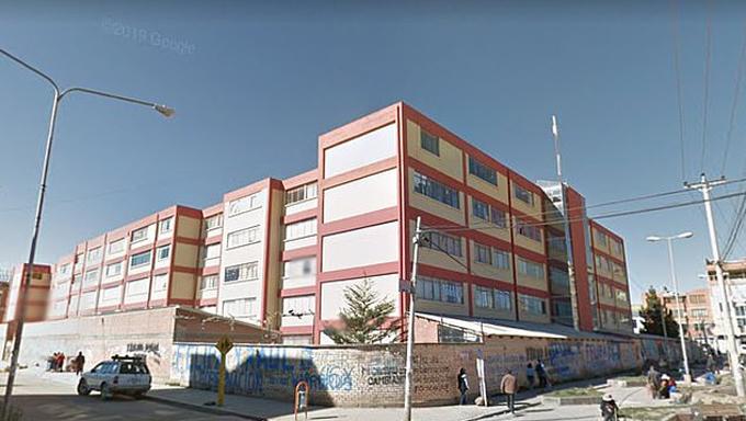 Trường đại học El Alto, Bolivia. Ảnh: Google Street.