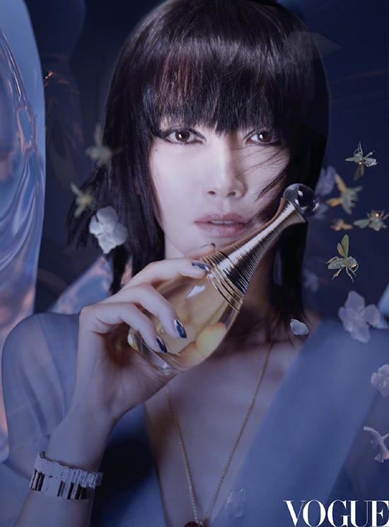 Lý Băng Băng trông giống Trần Khôn trên bìa Vogue - 14