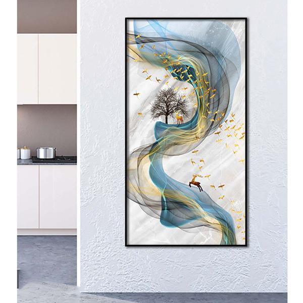 Tranh treo tường kim sa dải ngân hà THD08 (TẶNG ĐINH 3 CHÂN) - Nhiều màu 485.000đ(- 50 %)Kích thước :    160 x 200 x 25cmTranh nghệ thuật được làm từ lọai giấy cao cấp, in ảnh chất lượng cao, không bị nhòe ảnh hay bể ảnh, màng bảo vệ bóng, mờ chịu nước và chống bay màu tốt,đem lại cho bạn một sản phẩm không chỉ độc đáo về hình ảnh mà còn tốt về chất lượng. Sản phẩm được làm từ những lọai gỗ mịn cao cấp nhập khẩu từ nước ngoài (gỗ MDF), phủ melamine có tính chống trầy cao, không biến dạng.
