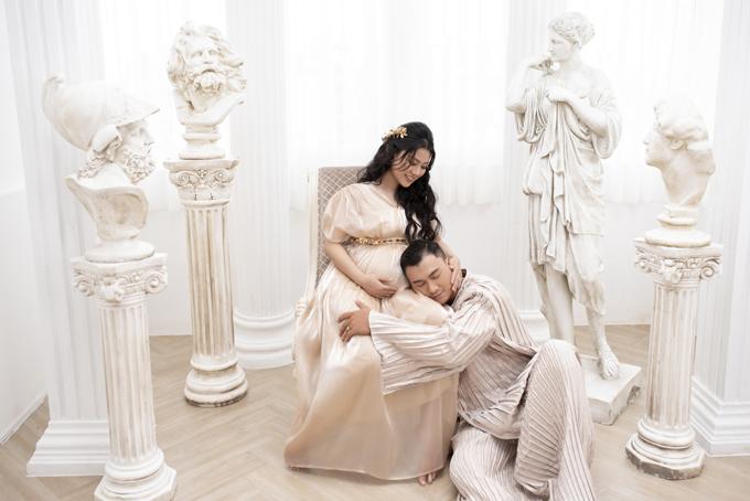 Niềm mong ước lớn nhất của Xuân Phúc hiện tại là vợ được trải qua thai kỳ an toàn, khỏe mạnh.